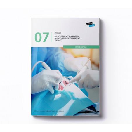 Materiale didattico Modulo 7: Conservativa, periodonzia, chirurgia e impianti