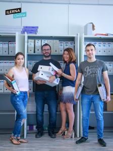 equipo secretaría académica de ILERNA Online