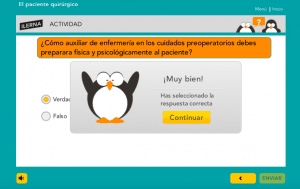 recursos interactivos de ILERNA Online