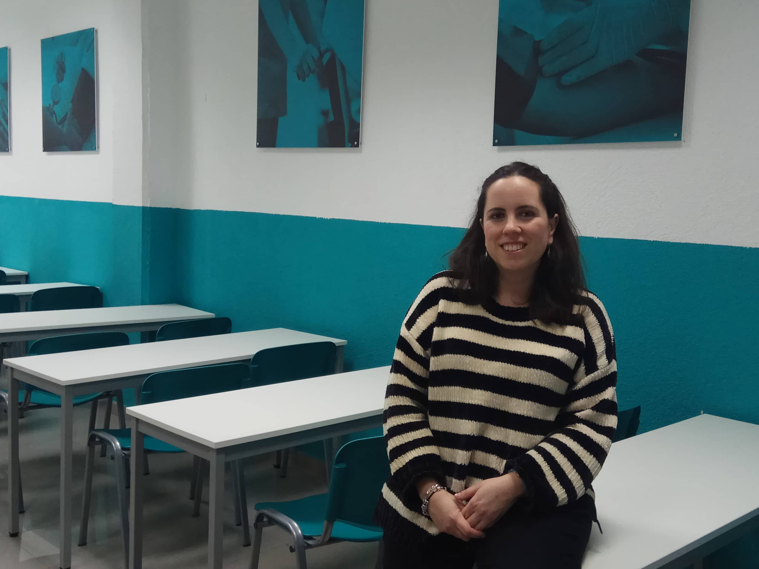 Irene Gómez, profesora de ILERNA Madrid