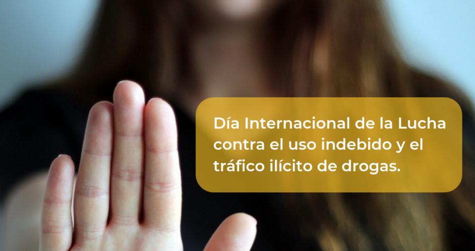 ILERNA Online se suma, un año más, a la lucha contra el consumo y el tráfico de drogas