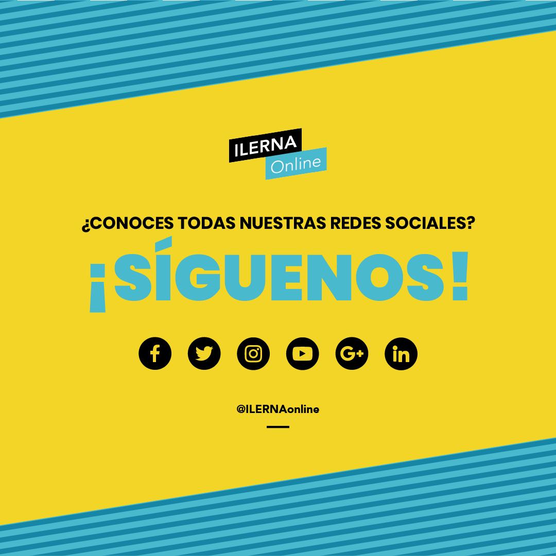 Redes sociales de ILERNA Online
