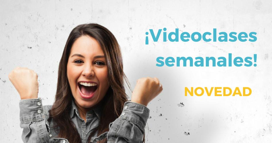 ¡Videoclases semanales en ILERNA Online!