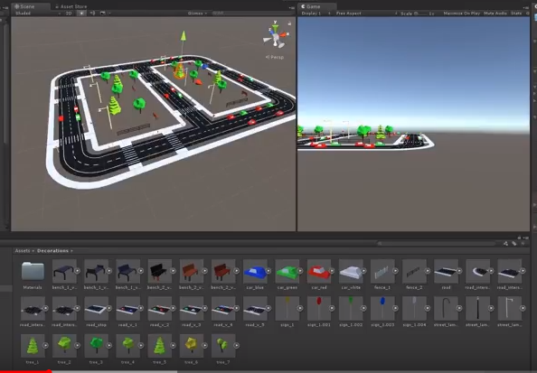 unity materiales