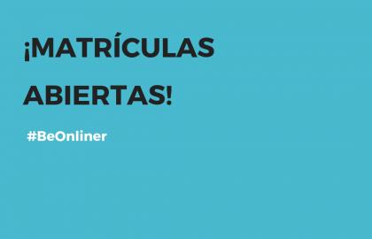 ¡Matrículas abiertas en ILERNA Online!
