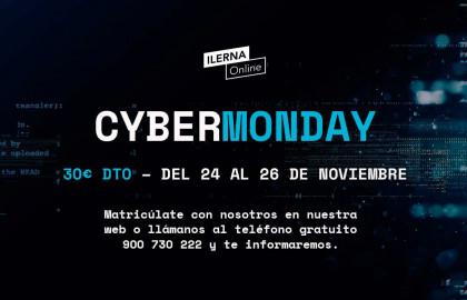 Matricúlate en ILERNA Online los días 24, 25 y 26 de noviembre y obtén un descuento de 30 euros en tu matrícula.