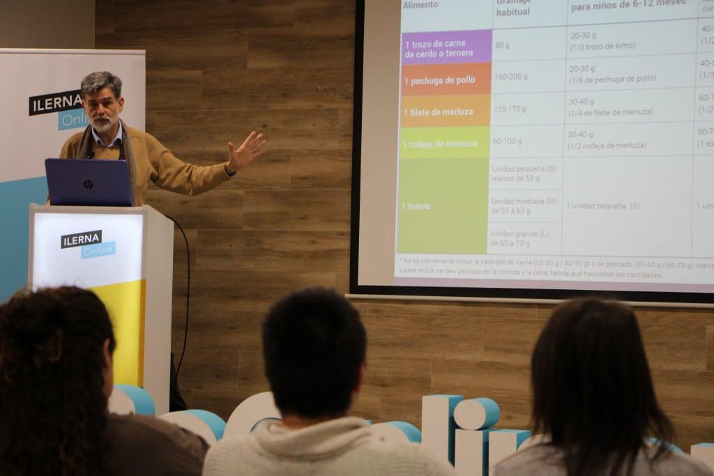 El pediatra Carlos González ha ofrecido una masterclass en ILERNA Online sobre la alimentación infantil