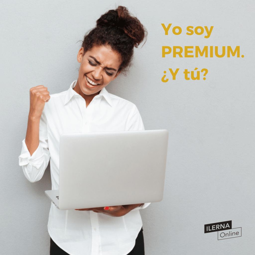 ¡Ser alumn@ Premium de ILERNA Online son todo ventajas!