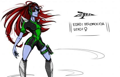 Personaje elaborado por la alumna de Animación 3D Aitana Madrid