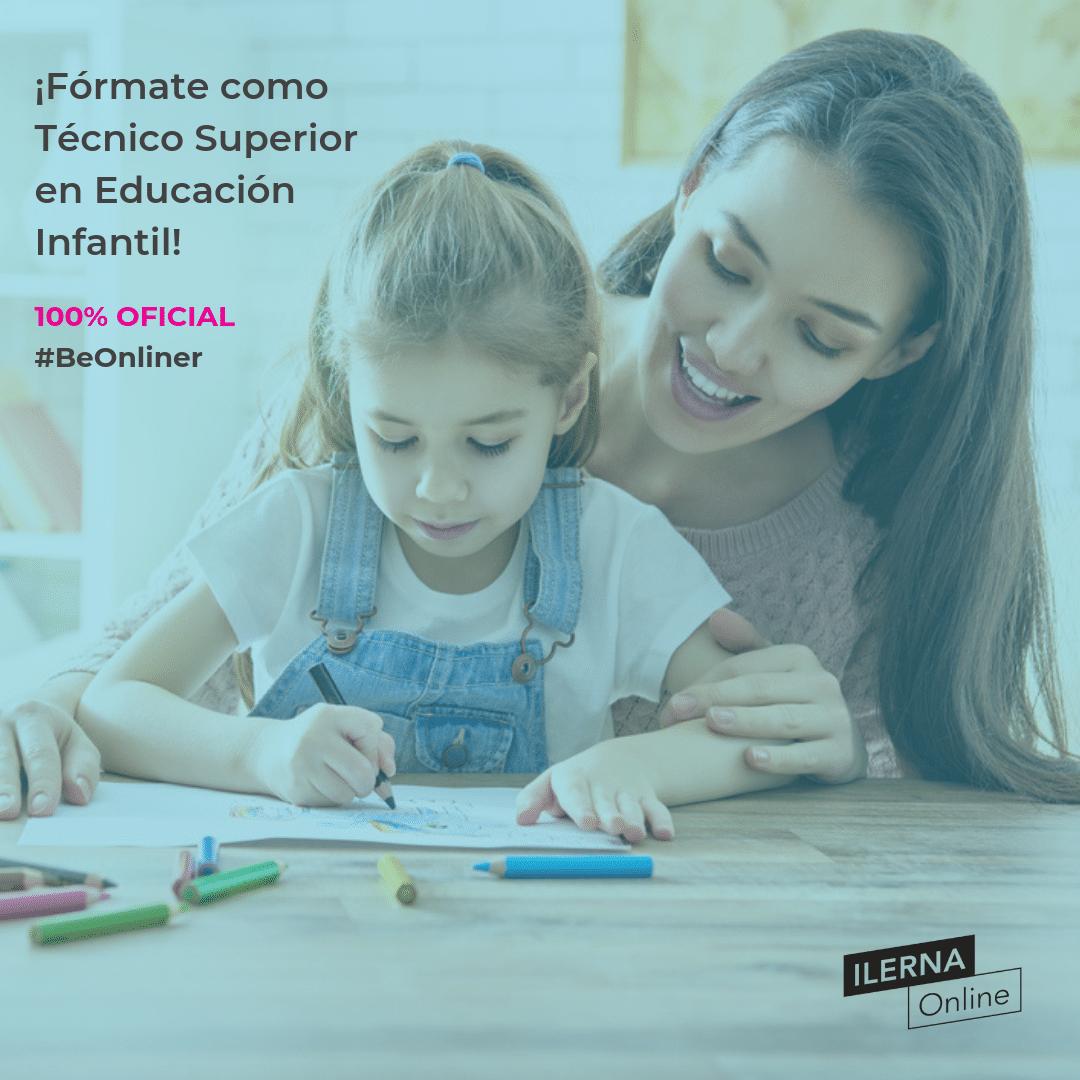¡Fórmate como Técnico Superior en Educación Infantil!