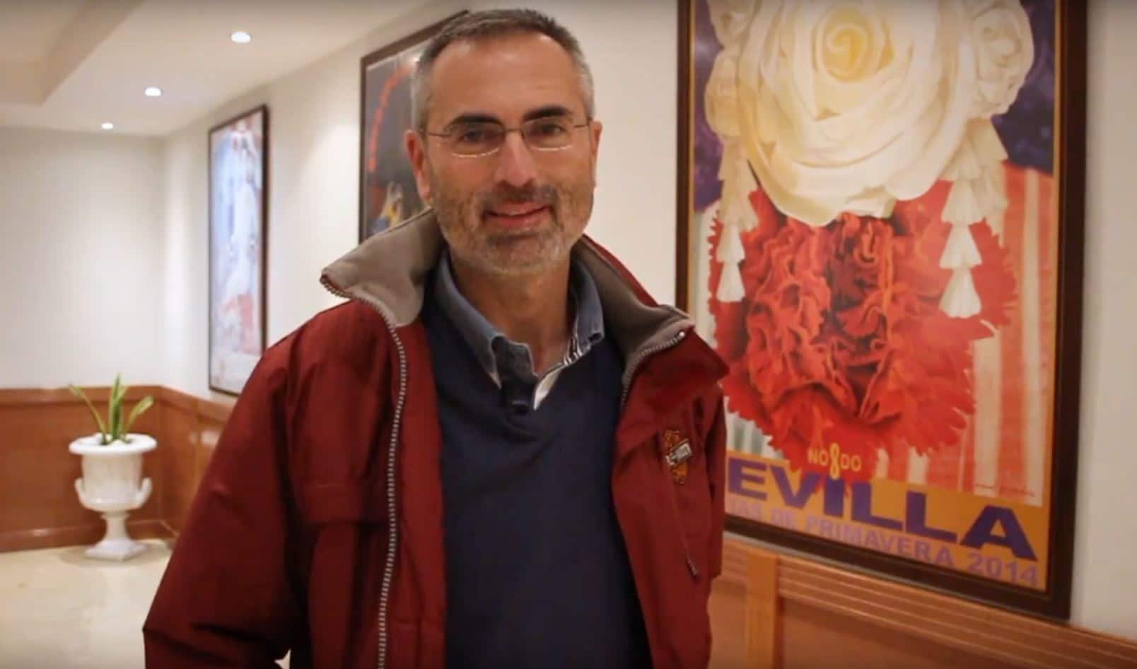 Joaquín Cortés es alumno del ciclo de FP de Auxiliar de Enfermería