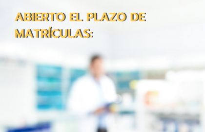 ¡Abierto el plazo de matrículas de los ciclos de Dietética y Farmacia!