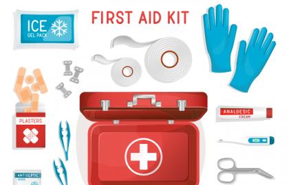 El contenido del botiquín de primeros auxilios puede variar en función de la cobertura y de la experiencia del personal que lo utilizará.