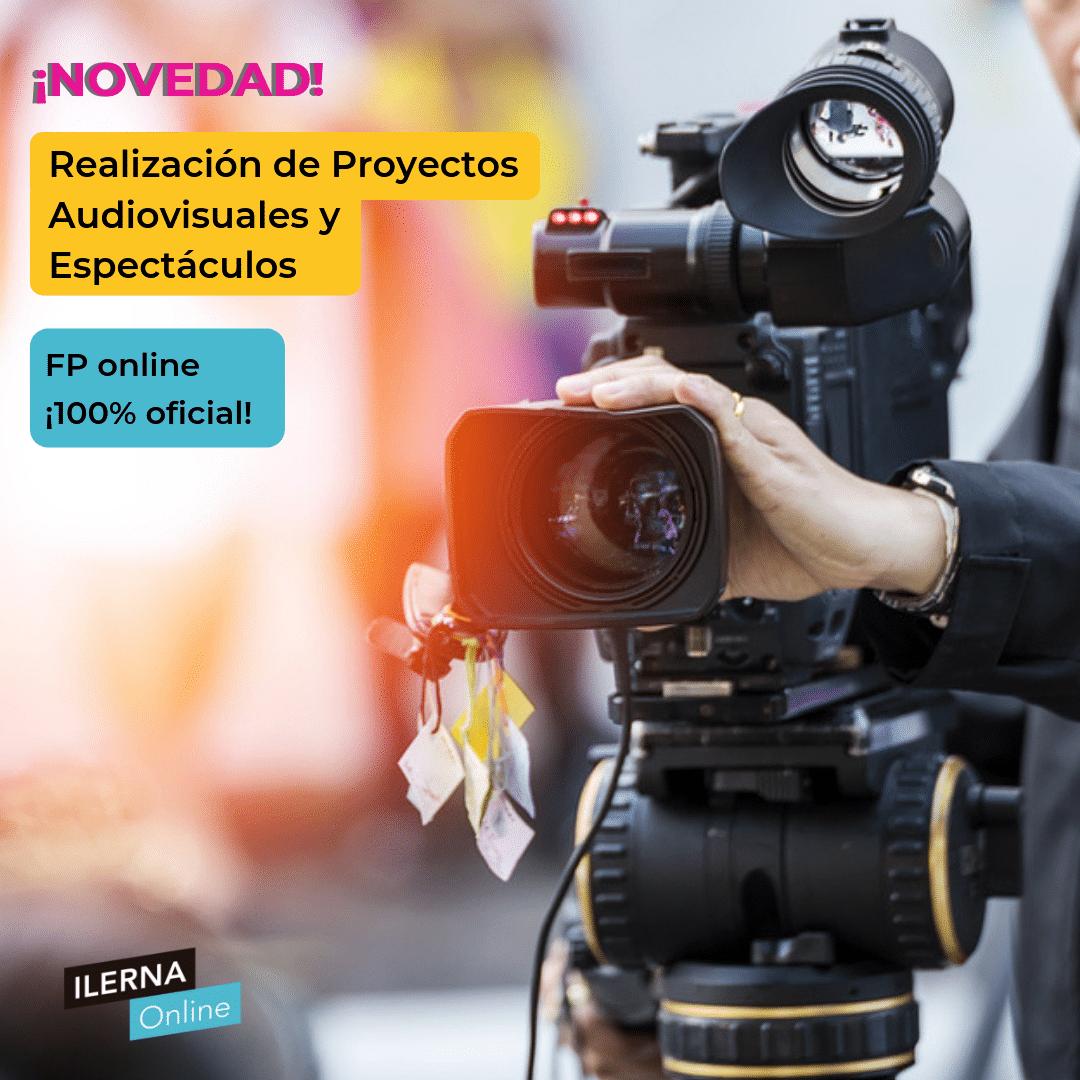 En septiembre estrenamos el ciclo de Realización Audiovisual