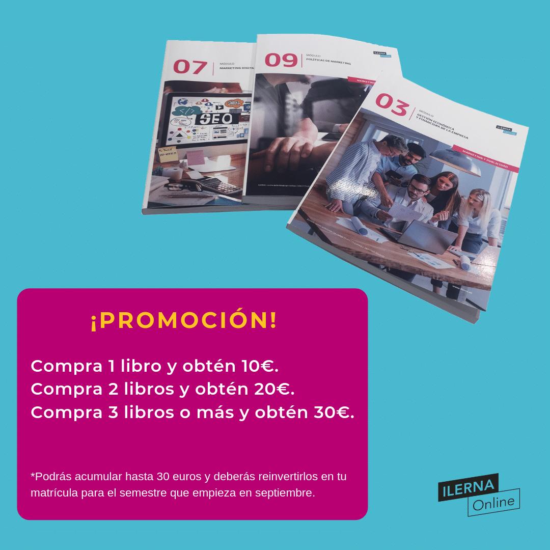 ¡Obtén hasta 30 euros de descuento por la compra de libros en papel!