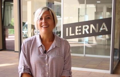 Laura es alumna del ciclo de Cuidados Auxiliares de Enfermería