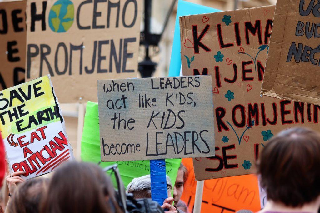 Las manifestaciones son habituales ne la fase de integración de los movimientos sociales.