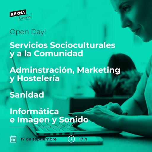 ¡No te pierdas el Open Day de ILERNA Online!