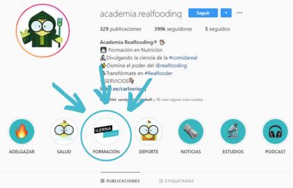 Hemos salido en Academia RealFooding, un referente de la dieta saludable