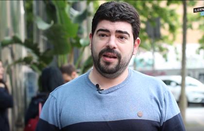 David ha estudiado Desarrollo de Aplicaciones Mult8iplataforma en ILERNA Online
