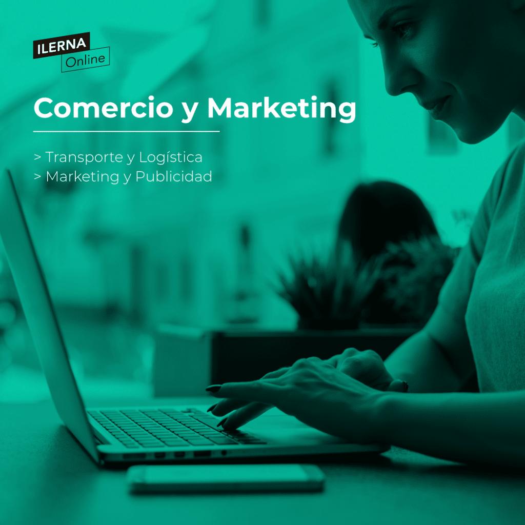 Introdúcete en el apasionante sector del Comercio y Marketing