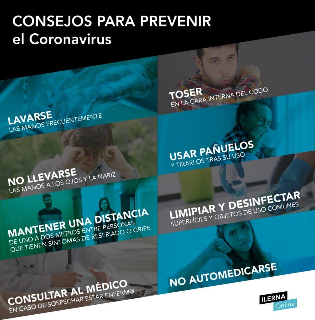 Pautas para prevenir el Coronavirus