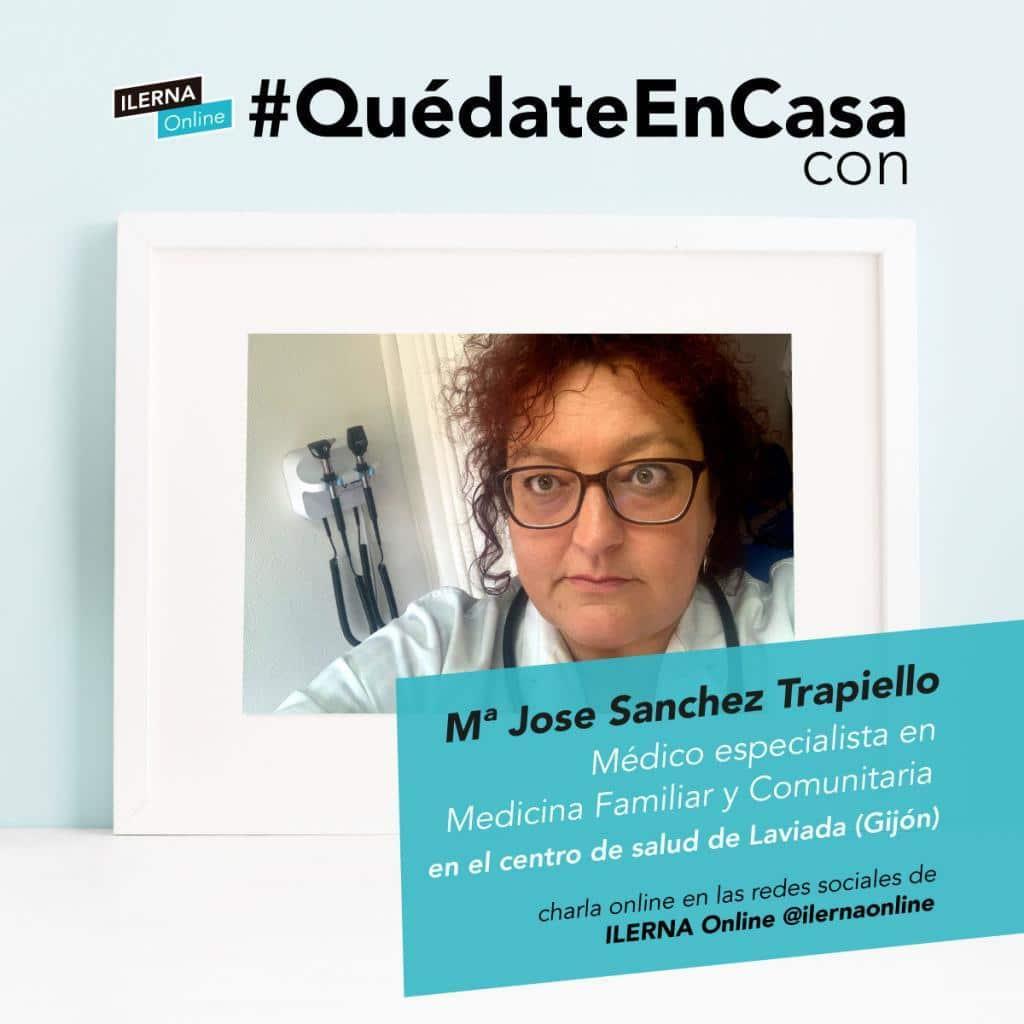 María José Sánchez es médico y responde dudas sobre la COVID-19