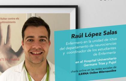 Raúl es enfermero y os resuelve dudas como el uso del gel hidroalcohólico casero