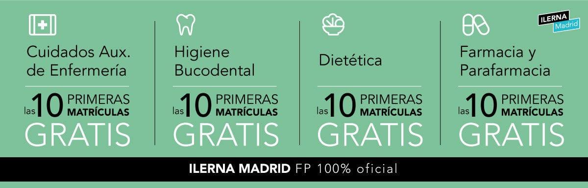 ILERNA Madrid ofrece 40 matrículas gratis