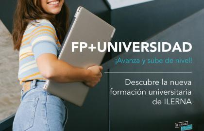ILERNA Universidad, la formación que te hará subir de nivel
